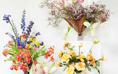 A top NYC florist creates stunning arrangements from everyday stems