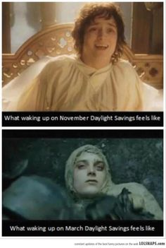 Daylight Savings...