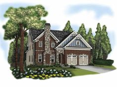 Eplans Traditional House Plan - Five Bedroom Traditional - 2954 Square Feet and 5 Bedrooms from Eplans - House Plan Code HWEPL66507