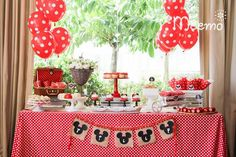 Minnie Mouse Birthday Party via Kara's Party Ideas | KarasPartyIdeas.com (12)
