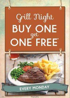 Buy one get one free mmmm