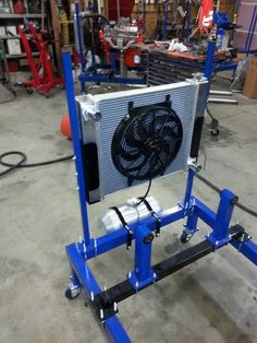 Engine Run Test Stand - Solo Metal Works