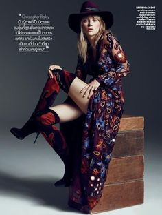 somerollingstone:  Suki Waterhouse by Marcin Tyszka for Vogue Thailand September 2015    Boots by Burberry Prorsum