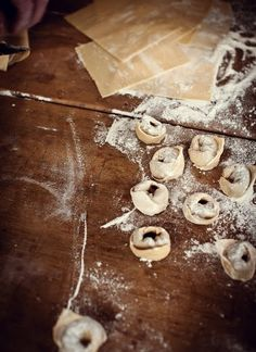 homemade tortellini- on the menu this week... may use my cheese filling recipe instead so the kids will eat it :)
