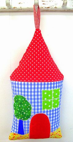 Fabric House by Dvorale's_colors, via Flickr