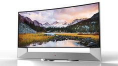 The new LG Curved TV 105UB9