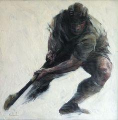 Full Back by Unknown Irish Art, Art Gallery, Batman, Artist, Ireland, Paintings, Sport, Art Museum, Deporte
