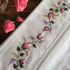Getting to Know Brazilian Embroidery - Embroidery Patterns Border Embroidery, Hardanger Embroidery, Silk Ribbon Embroidery, Hand Embroidery Designs, Embroidery Patterns, Art Textile, Brazilian Embroidery, Fabric Jewelry, Couture
