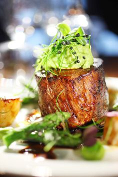 Fillet Steak Meal © David Cantwell Photography