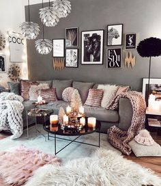 living room decor cozy * living room decor & living room decor ideas & living room decor apartment & living room decor on a budget & living room decor cozy & living room decor modern & living room decor farmhouse & living room decor ideas on a budget Living Room Decor Cozy, Living Room Grey, Home Living Room, Interior Design Living Room, Living Room Designs, Apartment Living, Living Room Ideas Pink And Grey, Living Room Decor Ideas Grey, Living Room Artwork