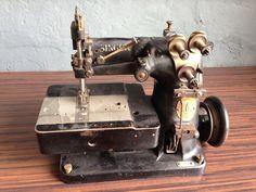 2 Needle Singer 105-20 Nähmaschine Industrienähmaschine   eBay