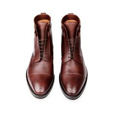 brand new 93cbb 30e40 ATELIERS HESCHUNG • NORDMANN ANILCALF NOISETTE PUCCINI Maroon Shoes,  Gentleman Shoes, Everyday Shoes,