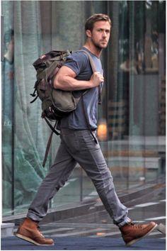 That arm.   Ryan Gosling