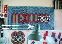 color studies for the mexico 68 log
