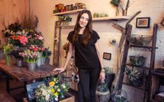 Denise Porcaro's Rag & Bones and Beautiful Florals - Jean STORIES. Photo by Taylor Jewell.