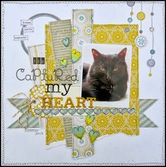scrapbooking - for the love of paper: You Captured My Heart.