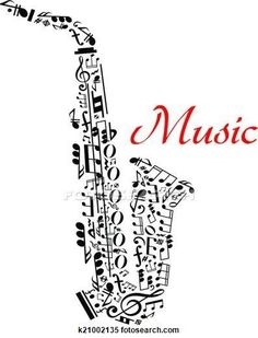 Music notations Saxaphone