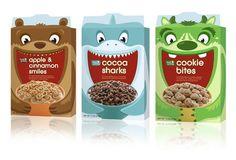Fresh & Easy Kids Cereals — The Dieline - Branding & Packaging