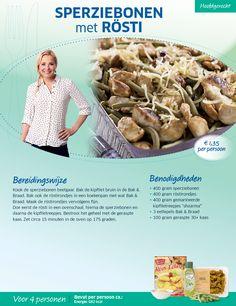Sperziebonen met rösti - Lidl Nederland