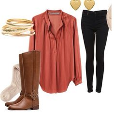 Nice boot outfit  story inspiration === norah dylan