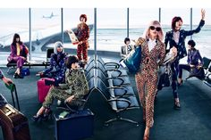 if only air travel were this chic.