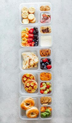 Healthy Vegan Back to School Lunchbox Ideas - These incredibly easy vegan lunches are perfect for both kids and adults alike! Making these will save you time, nourish you and your children all while being fun and delicious! Healthy School Lunches, Vegan Lunches, Lunch Snacks, Clean Eating Snacks, Kid Lunches, Kid Snacks, Vegan Lunch For School, Healthy Packed Lunches, School Snacks