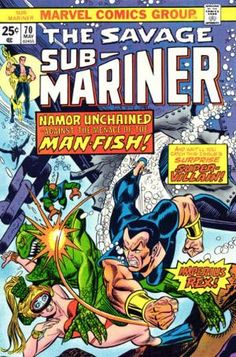 sub marinor | Sub-Mariner Vol 1 70 - Marvel Comics Database