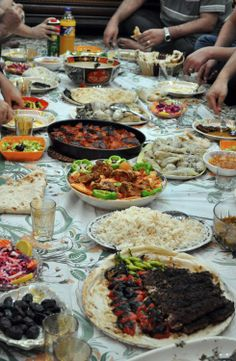 Iraqi food. Iraq was always meant to feast! This is why we are all fat and love to stuff our children