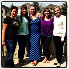 """MINNESOTA USA :: Certified Yogastrologer® Elisabeth Olson (at center, in blue dress) says, """"the highlight of Yogastrology® training was when I was preparing to teach a Wellness Retreat (April 2013). I was so excited to share all that I had learned with others. I got so much support and guidance from Yogastrology® founder Diane Booth Gilliam, it made all the difference in the world on the quality of teaching I was able to offer my retreat participants."""""""
