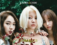 "Girl group Ladies' Code are joining the comeback lineup this month. This week on October 5, Ladies' Code released the first teaser image for their upcoming album ""Strang3r"", title track ""The Rain"". The next album of Ladies' Code will be released next week, on October 13.     The next record of Ladies' Code, ""Strang3r"",More"