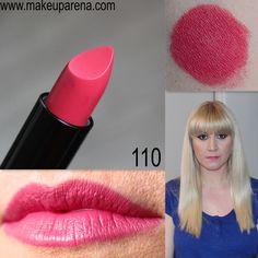 Golden Rose VISION lipstick in shade 110 /// MAKEUP ARENA: Golden Rose VISION ruževi, SVE NIJANSE 101-125