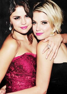 Selena Gomes and Ashley Benson