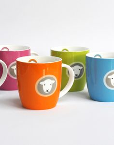 This company's products and me -- it was love at first Baaaa.  Herdy mugs. Designs based on herdwick sheep, the traditional breed of the lake district.