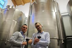 The Manera brothers of the Manera Winery