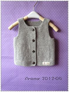 Baby Tank Tops – Baby and Toddler Clothing and Accesories Baby Knitting Patterns, Baby Boy Knitting, Knitting Blogs, Knitting For Kids, Free Knitting, Baby Patterns, Knitted Baby Clothes, Baby Sweaters, Baby Dress