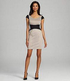 London Times Colorblock Sheath Dress #Dillards | My Style ...