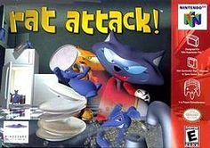 #Rat Attack! North American box art Wikipedia, the free encyclopedia #nintendo #nintendo64 #games #retro #synergeticideas #fun #action #sport #rpg #adventure #gaming joy #history #platform #competition #collection #power #64bit #relive #relaxation #power #gamer #gaming #ultra #powerplay #gameon #news