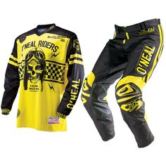 Oneal 2014 Ultra Lite LE 70 Black-Yellow Motocross Kit  Description: The Oneal 2014 Ultra Lite LE 70 Black/Yellow MX Kit is       packed with features..              JERSEY SPECIFICATION                      Sublimated No-Fade Graphic – So your shirt will look new a long         time                    High Quality Moisture Wicking Materials...  http://bikesdirect.org.uk/oneal-2014-ultra-lite-le-70-black-yellow-motocross-kit-15/
