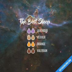 The Best Sleep — Essential Oil Diffuser Blend