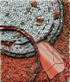 "Rachel Sager & Jo Braun - ""Cosmosis"" collaborative mosaic"