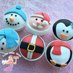 ChristmasCharactoersCupcakeClass.jpg (900×900)