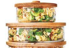 Lemony Cucumber-and-Herb Pasta Salad Recipe | Real Simple