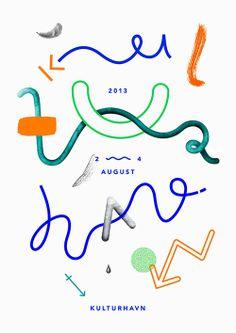 ✖ Kulturhavn poster by Stinne Marie Wilhelmsen #loveit