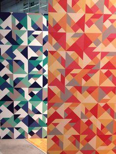 Left: Printed on HP PVC-free Wall Paper \\\ Right: Printed on Neenah Lahnstein  varitess® 938.150