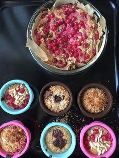 Paleo Red Currant Muffins / Johannisbeermuffins