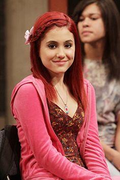 Ariana Grande as Cat Valentine Ariana Grande Victorious, Victorious Cat, Cat Valentine Victorious, Ariana Grande Fotos, Ariana Grande Pictures, Ariana Grande Red Hair, Icarly, Millie Bobby Brown, Bilal Hassani