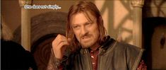 Boromir's great idea - bears with lasers (gif)