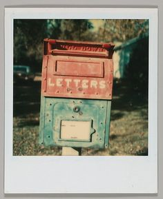 Walker EVANS :: Mailbox, Alabama, 1973