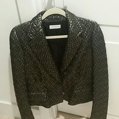 "Selling this ""New price....Fancy black jachet...never been worn"" in my Poshmark closet! My username is: atabacaru. #shopmycloset #poshmark #fashion #shopping #style #forsale #Dries Van Noten #Jackets & Blazers"