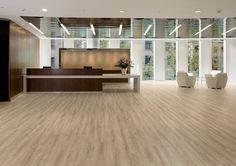 Affinity255 LVT Flooring In Dappled Oak For Office Reception Area Vinyl  Tiles, Vinyl Flooring,